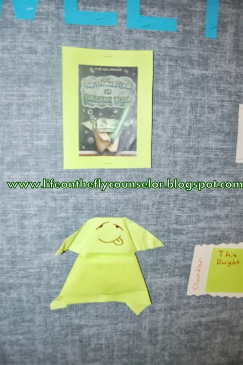 origami yoda summary on the fly a school counselor get your read on