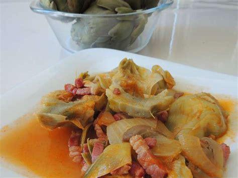 artichaut cuisine recettes d artichaut a la barigoule