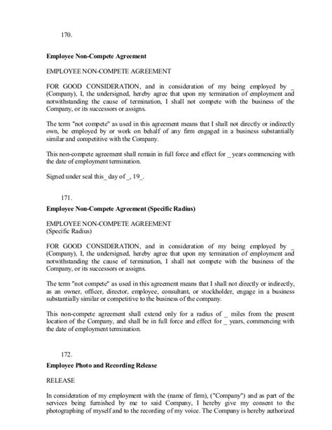 Sle Business Letters 101 200 Non Compete Release Letter Template
