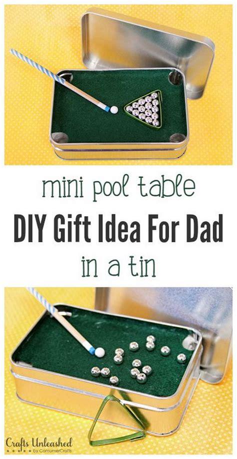 diy mini pool table easy and budget diy gifts 2017