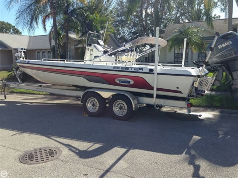 skeeter center console boat for sale 2005 used skeeter zx24 bay center console fishing boat for