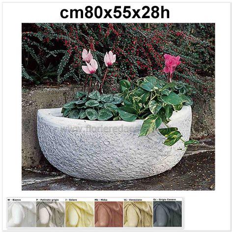 offerte vasi da giardino vasi da giardino mezzo vaso 597vr699 bocciardato offerte