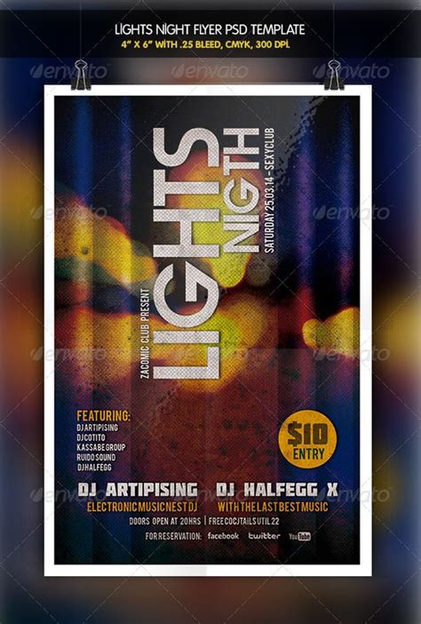 dafont molot lights night party flyer graphicriver file info flyer
