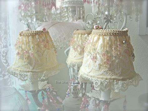 shabby paris pink chic silk chandelier l shade s