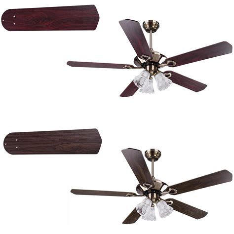 remote control reversible ceiling fans 52 quot traditional bronze finish ceiling fan light kit w