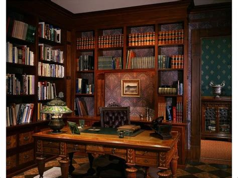 Victorian Style Home Office | victorian gothic interior style fiction elliott s office