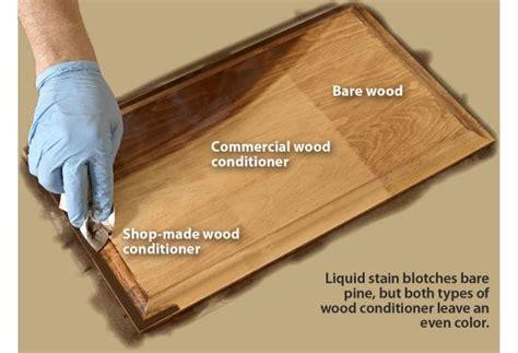 avoid  fix blotchy stain