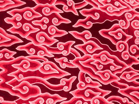 wallpaper coklat merah batik tulis halus mega mendung cirebon workshop batik