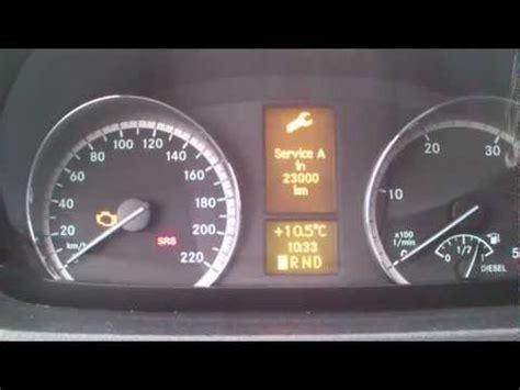 Auto ölwechsel by Reset Service Light Indicator Mercedes Vito W639 Reset