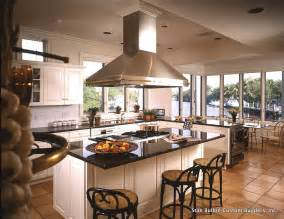 Kitchen island with stove top kitchen traditional with black