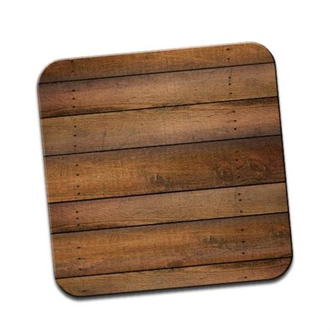 Wood Disk Placemat It Or It 2 by Cabin Wall Wood Lookalike Hardwood Coasters Placemats Ebay