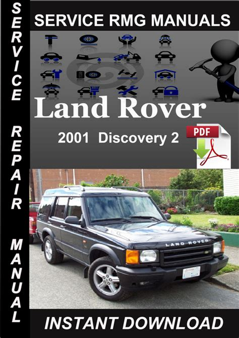 2001 land rover discovery 2 service manual download download manu