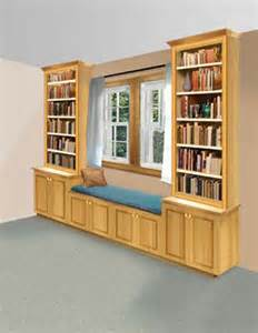 Window Bench And Bookshelves Learning Spaces A Diy Book Nook Preschool Powol