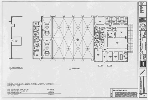 fire floor plan floor plan of the new fire station fire station pinterest