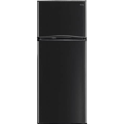 Clear Glass Door Refrigerator Frigidaire Ffpt10f3mb 9 9 Cu Ft Apartment Top Freezer Refrigerator With Adjustable Glass