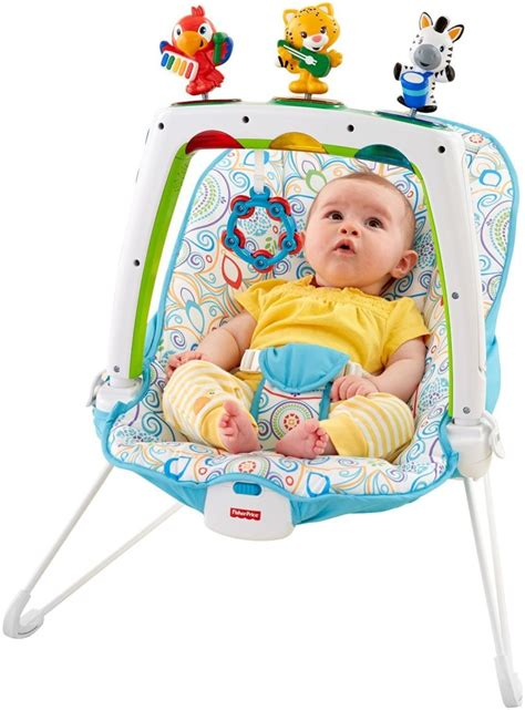 fisher price bouncy seat fisher price steps musical bouncer 49