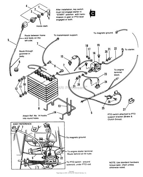 simplicity mowers wiring diagram baron simplicity starter