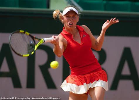tennis dresses    french open stripes paint