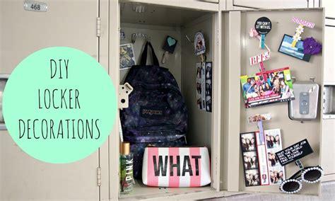 Locker Diy Decorations by Diy Locker Decorations For Back To School