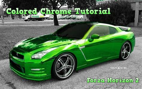 Sprei 3d Cars forza horizon 2 colored chrome paint tutorial