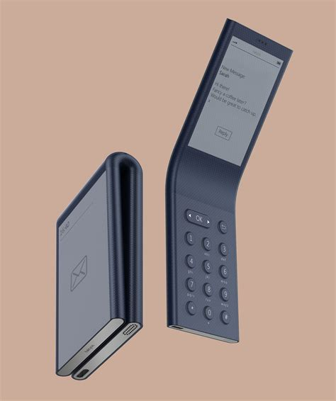 Phones To Help Digital Detox by Industrial Design Digital Detox Phone