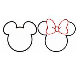 Small Outline by Best Photos Of Small Mickey Template Mickey Mouse Black Mickey Mouse Outline