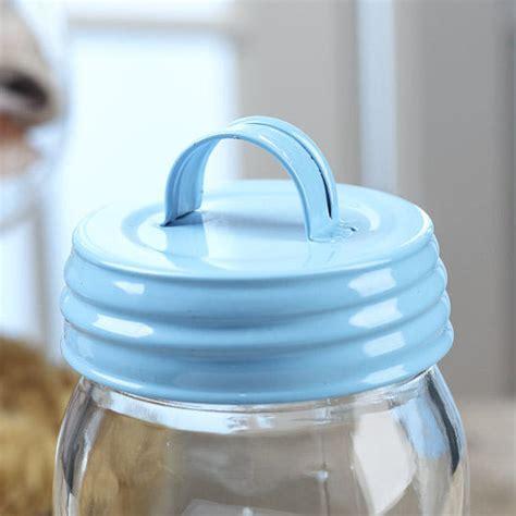 blue mason jar lid with handle jar lids basic craft supplies craft supplies