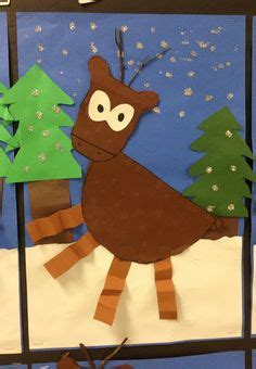 oh deer classroom decoration craft 1000 images about winter themed projects on winter trees snowman and cardinals