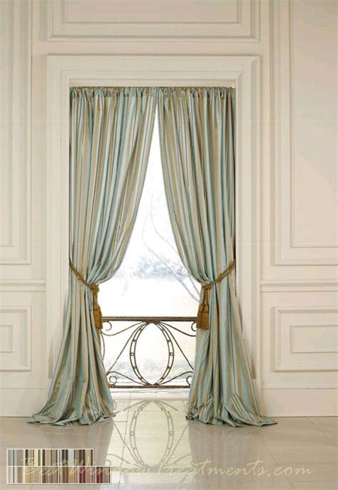 outdoor curtains 120 inches long sorrento stripe curtain drapery panels nfpa 701 fr fire