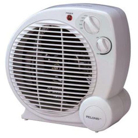 home depot electric fans pelonis 1 500 watt fan compact personal electric portable