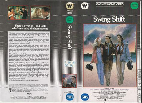 movie swing shift swing shift vhscollector com your analog videotape archive