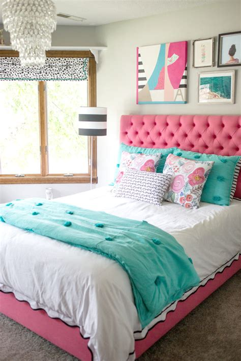 teenager beds a teen bedroom makeover decor fix
