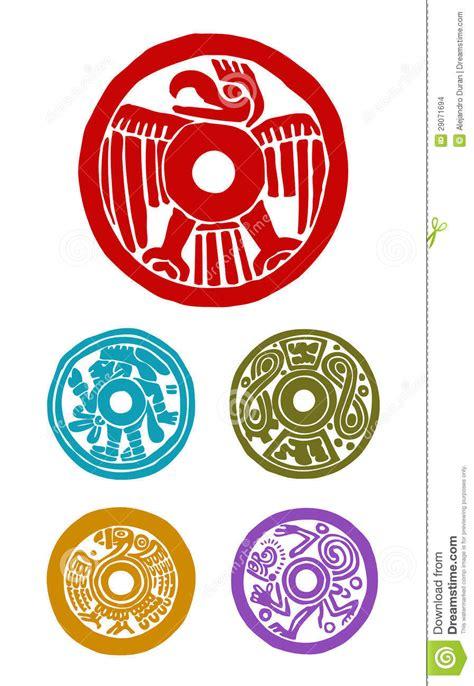 imagenes simbolos mayas s 237 mbolos mayas imagenes de archivo imagen 29071694