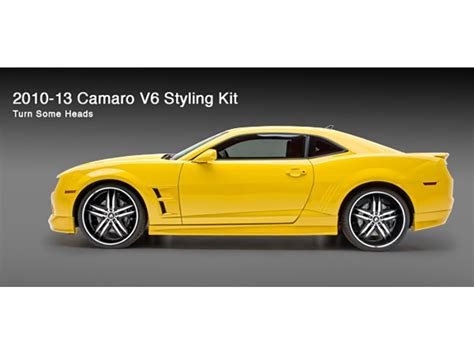camaro styles by year camaro v6 style kit 4pc 691999 by 3dcarbon for years