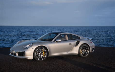 2014 Porsche 911 Turbo S Side
