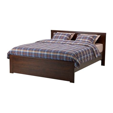 ikea guest bed brusali bed frame brown ikea bed frames mattress and