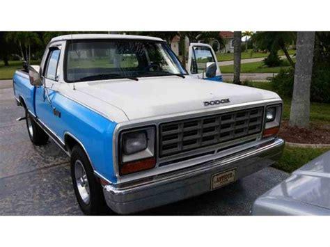 dodge d 150 1985 dodge d150 for sale classiccars cc 611261