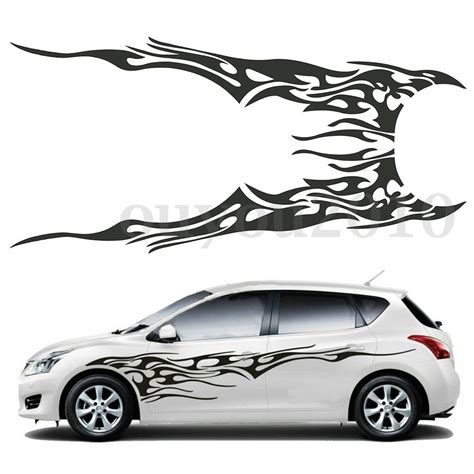 Cars Vinyl Decals by Pair 83 X 19 Car Decal Vinyl Graphics Two Side