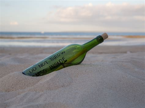A In How To Make A Message In A Bottle 11 Steps With Pictures