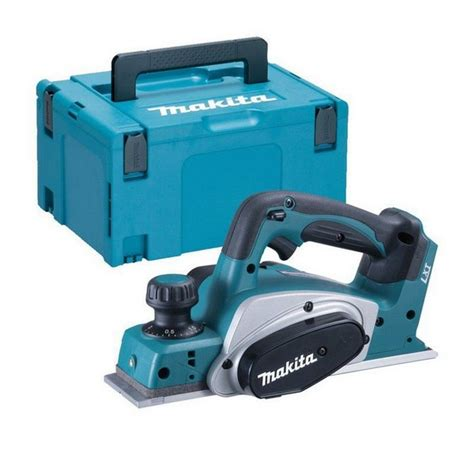 makita bench planer makita dkp180zj 18v cordless planer body only supplied