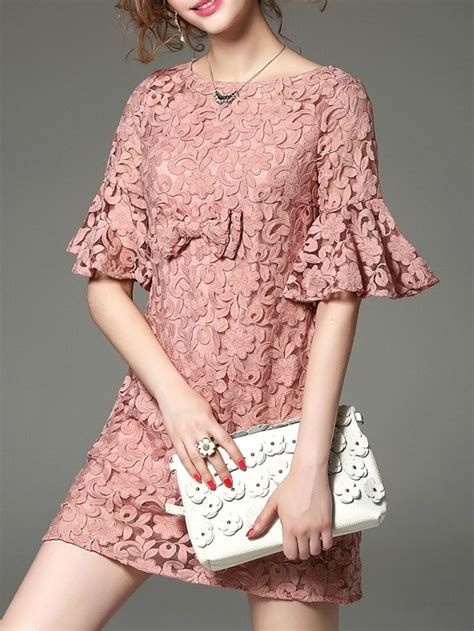 floral sleeve embroidery mini dress kebaya brokat and lace dress