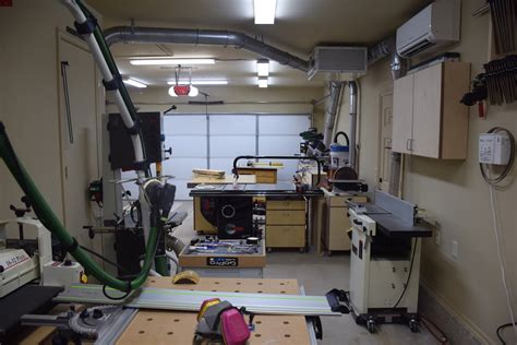 lance s updated garage shop the wood whisperer