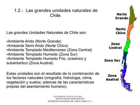 imagenes de las zonas naturales de chile 1 2 unidades geo ambientales naturales de chile