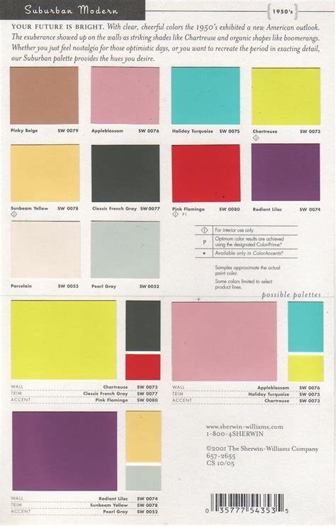 modern color schemes mid century modern paint colors by sherwin williams mid