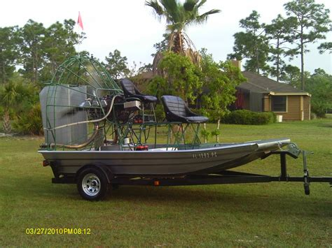 aluminum boats for sale orlando 13 x 8 alumitech airboat the hull truth boating and