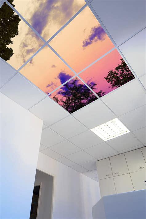 Luminaire Faux Plafond 60x60 by Les Dalles Lumineuses
