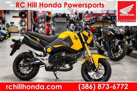 honda grom for sale florida honda grom 125e motorcycles for sale in florida