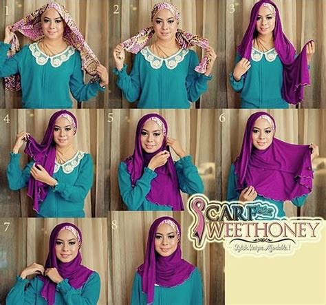 tutorial jilbab kebaya modern 86 best images about tutorial hijab on pinterest