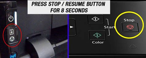 reset cartridge canon e400 broken triangle inside a circle what does it mean