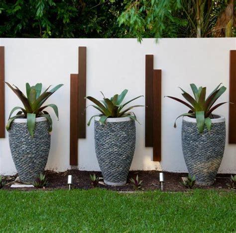 Decoration Mur Exterieur by D 233 Co Mur Ext 233 Rieur Jardin 51 Belles Id 233 Es 224 Essayer
